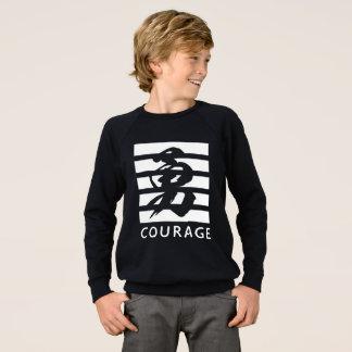 Agasalho T-shirt legal da coragem (caráter chinês)