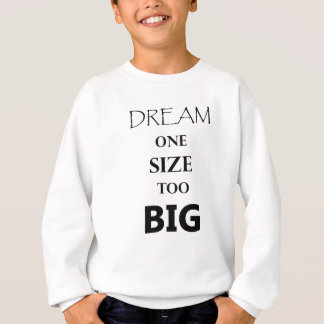 Agasalho tamanho do sonho um