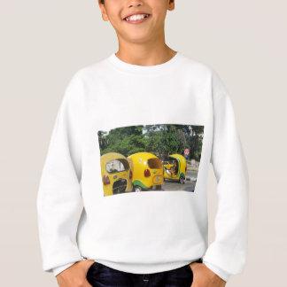 Agasalho Táxis amarelos brilhantes dos Cocos do