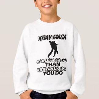 Agasalho Tendendo o DESIGN de Krav Maga