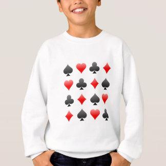 Agasalho Ternos do cartão do vinte-e-um/póquer: Arte do