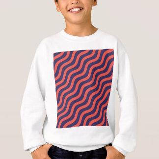 Agasalho Teste padrão de onda geométrico abstrato
