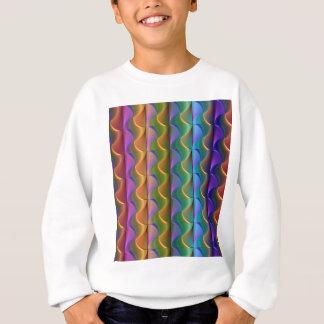 Agasalho Teste padrão psicadélico colorido brilhante