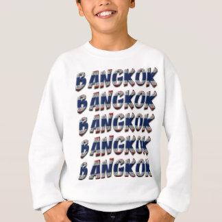 Agasalho Texto elegante da tipografia de Banguecoque