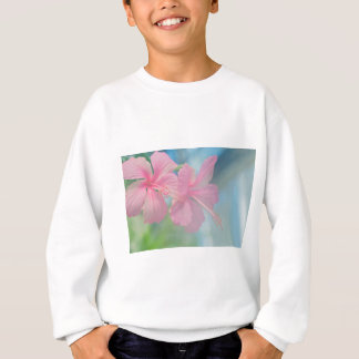 Agasalho Tiro macro macio de flores cor-de-rosa do hibiscus