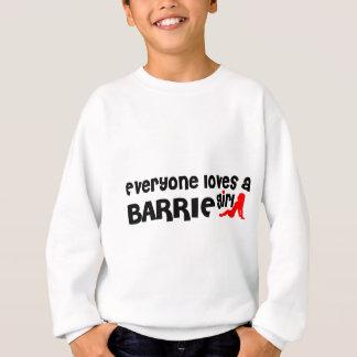 Agasalho Todos ama uma menina de Barrie