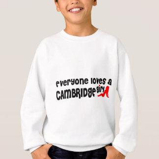 Agasalho Todos ama uma menina de Cambridge