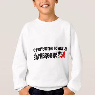 Agasalho Todos ama uma menina de Sherbrooke
