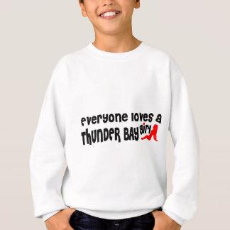 Agasalho Todos ama uma menina de Thunder Bay