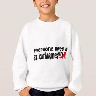 Agasalho Todos ama uma menina do St. Catharines