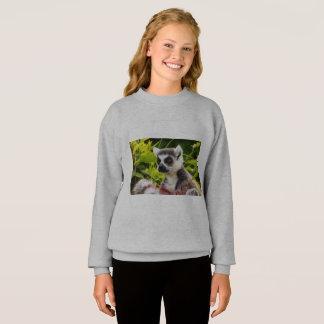 Agasalho um lemur de Madagascar na camisola do Blend® da