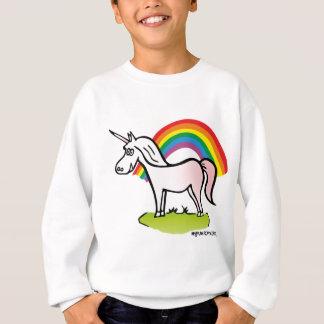 Agasalho Unicorn and Rainbow - unicórnio e arco-íris