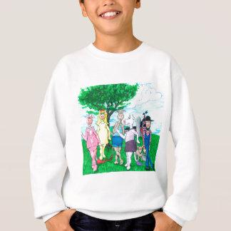 Agasalho Vacas de leiteria que vestem a roupa de rua