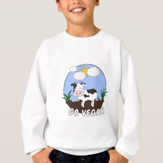 Agasalho Vai o Vegan - vaca bonito