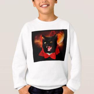 Agasalho vampiro do gato - gato preto - gatos engraçados