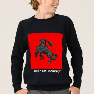 Agasalho Vaqueiro Bucking .jpg do cavalo de Texas