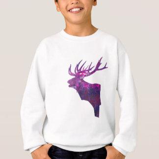 Agasalho Veado principal dos cervos no lilac