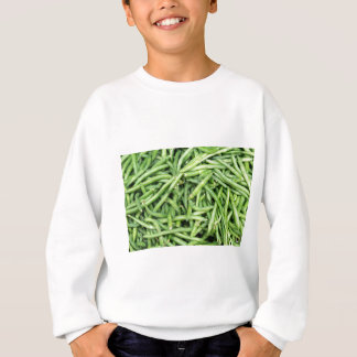 Agasalho Vegetariano verde orgânico Vegitarian dos feijões