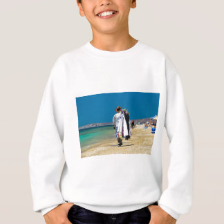 Agasalho Vendedor na praia