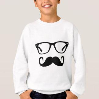 Agasalho Vidros do hipster & bigode do guiador