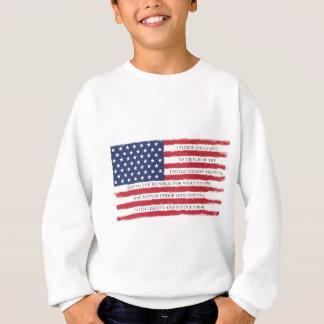 Agasalho Vintage da garantia da bandeira americana