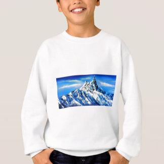 Agasalho Vista panorâmica do pico de montanha de Everest