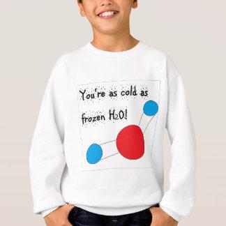 Agasalho você está tão frio quanto h2o congelado