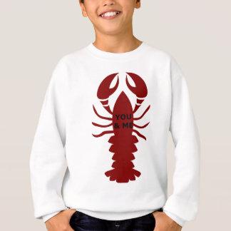 Agasalho Você & eu são lagostas