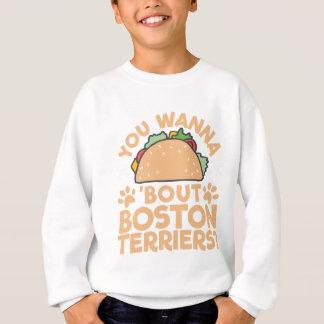 Agasalho Você quer aos terrier de Boston do ataque do Taco?