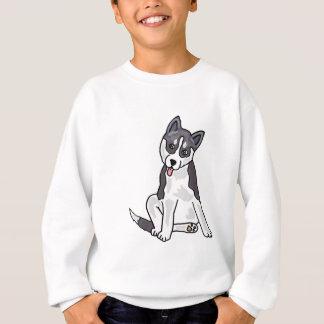 Agasalho XX- cão de filhote de cachorro do rouco Siberian