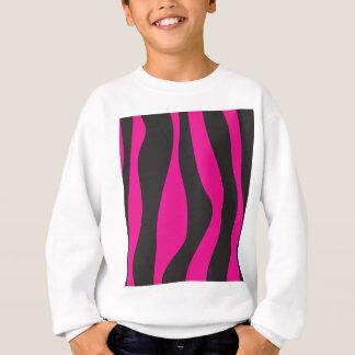 Agasalho Zebra cor-de-rosa