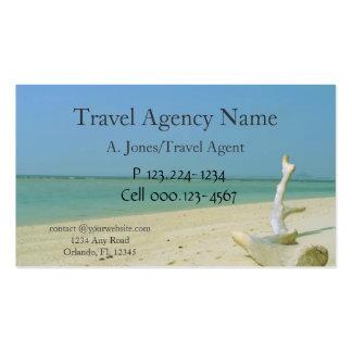 Agência de viagens cartao de visita