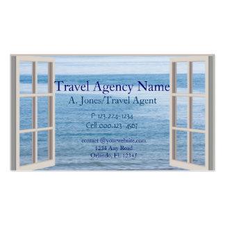 Agência de viagens cartão de visita