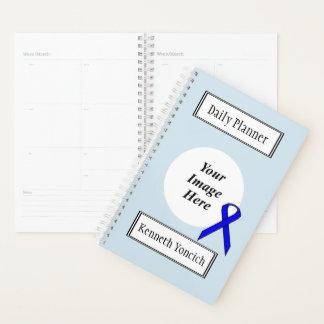 Agenda Fita padrão azul por Kenneth Yoncich