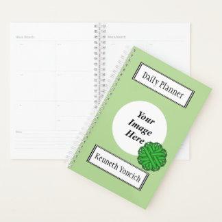 Agenda Fita verde da flor por Kenneth Yoncich