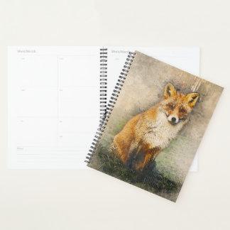 Agenda Fox vermelho