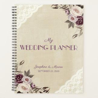 Agenda Profundamente - casamento floral das peônias roxas