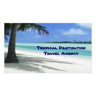 Agente de viagens modelos cartões de visita