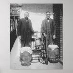 Agentes que indicam o uísque ainda, 1920 posteres