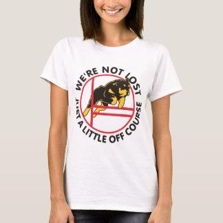 Agilidade de Rottweiler fora do curso Camiseta