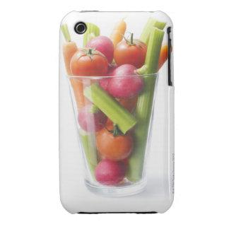Agitação do vegetal cru capas para iPhone 3 Case-Mate