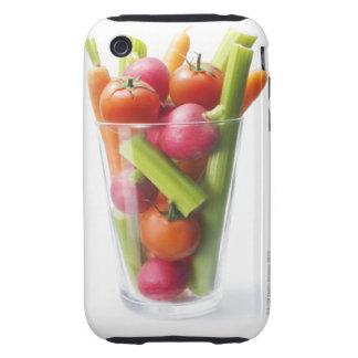 Agitação do vegetal cru capas para iPhone 3 tough