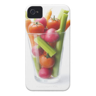 Agitação do vegetal cru capas para iPhone 4 Case-Mate