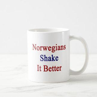 Agitação dos noruegueses ele melhor caneca de café