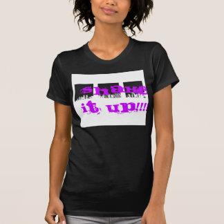 Agite-o acima do t-shirt 4 camiseta