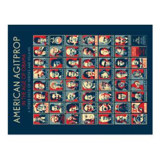 Agitprop americano na idade de Obama - cartão