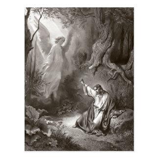Agonia de Jesus no cartão religioso do jardim Cartão Postal
