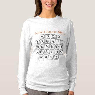 Agora eu sei o meu… (o adulto) camiseta