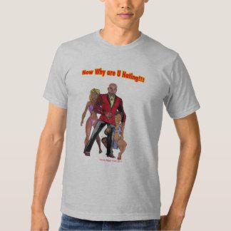 Agora porque é o ódio de U!!! Tshirt