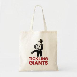 Agradando o bolsa do logotipo de Giants